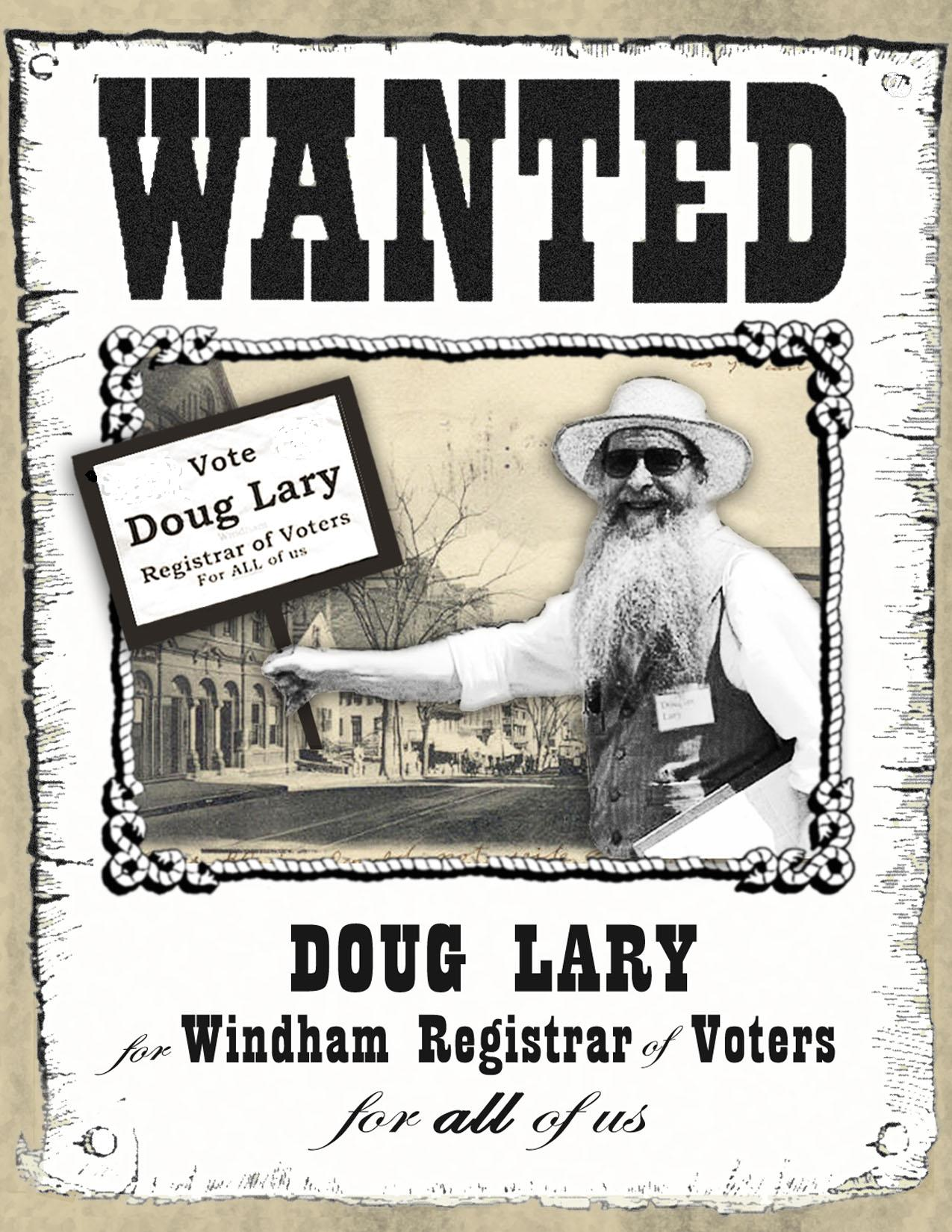 Lary wanted poster